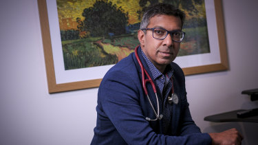 Dr Prasad Cooray says his personal experience has him questioning contact tracing protocols.