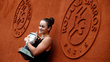 Australia's Ashleigh Barty will not be able to defend her 2019 title until September, with the French Open delayed due to the coronavirus pandemic.