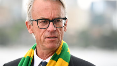 David Gallop steps down as chief executive of the FFA.