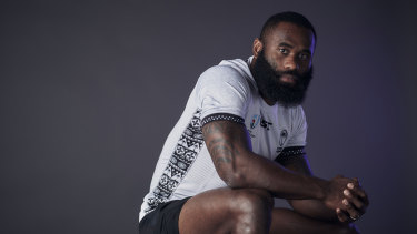 Fijian flyer Semi Radradra has eyes only for the job at hand at the Rugby World Cup.