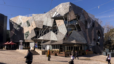 The Yarra building was to be demolished to make way for a new Apple Store at Federation Square.