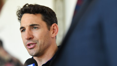 Conditioning: Billy Slater says the NRL's education policy can only build on what players have learned at home.