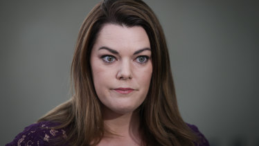 Engaging lawyers: South Australian Greens senator Sarah Hanson-Young.
