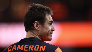 Jeremy Cameron is one of the AFL players who will get a payment from the AFL outside the salary cap.
