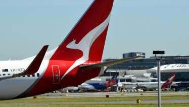 Qantas is in discussions with the Australian government about running rescue flights out of India.