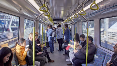Sydney's first fully automated metro train line opened last month.