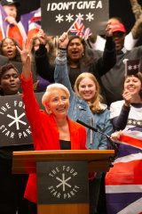 Emma Thompson stars as right-wing politician Vivienne Rook in <i>Years And Years</i>.