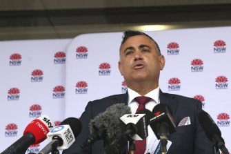 Deputy Premier John Barilaro says people in NSW are not ready to get their COVID-19 vaccine.