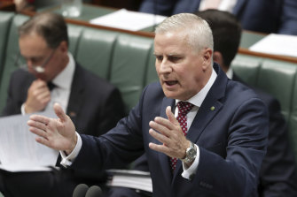Deputy Prime Minister Michael McCormack  says he's a fighter.