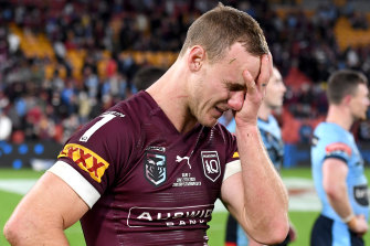 It's been a long Origin series for Daly Cherry-Evans.