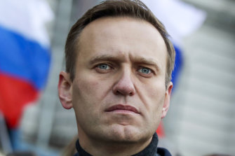 Biden called for Russian opposition activist Alexei Navalny to be released.