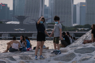 Singapore is planning ways to live with coronavirus as it speeds up vaccination rates.