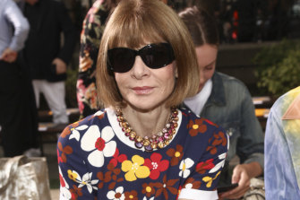 Anna Wintour is one of many in the fashion industry facing criticism.