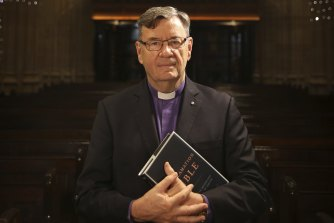 """The Anglican Archbishop of Sydney, Glenn Davies, says people """"desperately need the joy of Christmas"""" this year."""