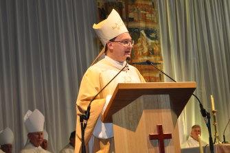 The bishop of Sale, Pat O'Regan.