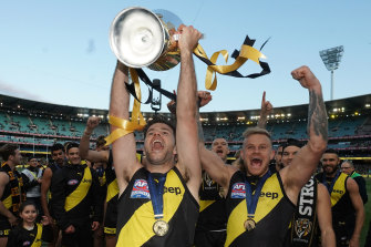 The question is no longer if the grand final will be held in Melbourne.
