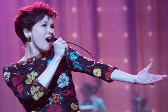 Made for colourful stage: Renee Zellweger as Judy Garland in this year's biopic, Judy.