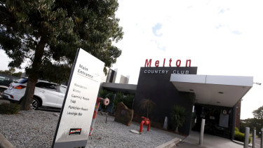 Essendon want to extend their lease of the Melton Country Club, and the operations of their pokies at the venue.