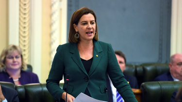 Deb Frecklington: Budget a 'kick in the guts' for regional Queensland.