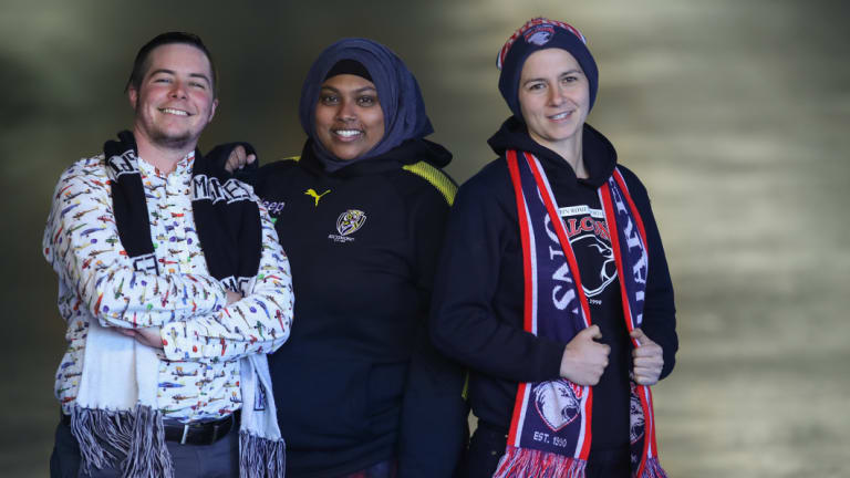 Andy Pullar, Rana Hussain and Julia Chiera are all fans of The Outer Sanctum podcast.