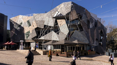 The Yarra building, to be demolished to make way for a new Apple Store at Federation Square.