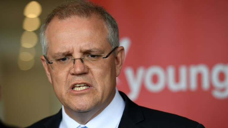 Prime Minister Scott Morrison badly needs at least the appearance of unity in his party.