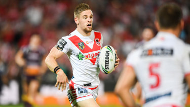 No Warrior: Matt Dufty came close to a move across the Tasman.
