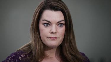 Engaging lawyers: South Australian Greens senator Sarah Hanson-Young.