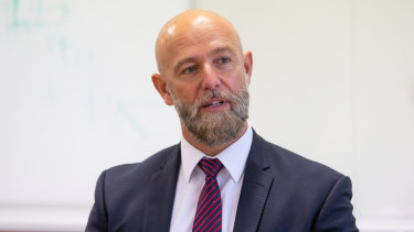 Geocon managing director Nick Georgalis says the first residents of the Republic site in Belconnen will be in their homes by Christmas.