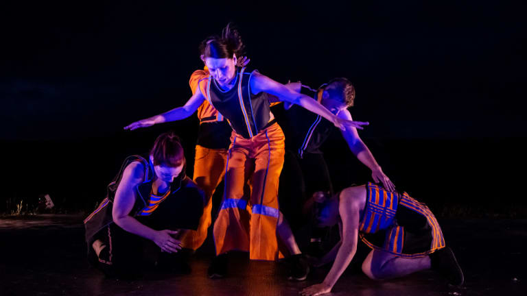 Australian Dance Party's performance of <i>Energeia</i>.