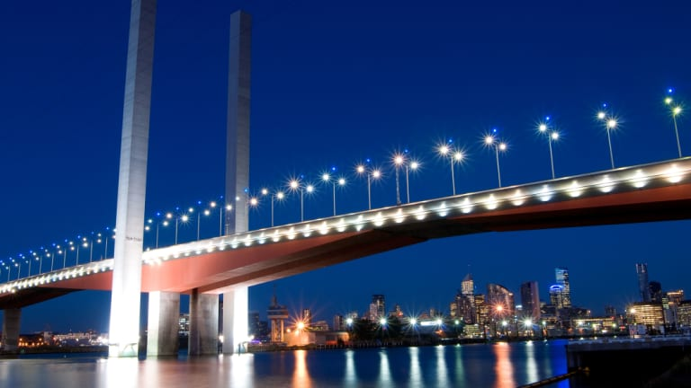 Melbourne's Bolte Bridge: Infrastructure investment is vital to Australia's economic and social future.