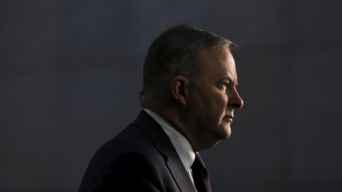 New Labor leader Anthony Albanese.