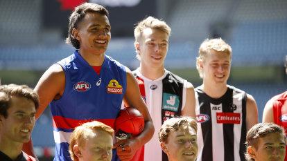 AFL draft podcast: Bulldogs take full advantage of 'rare window'