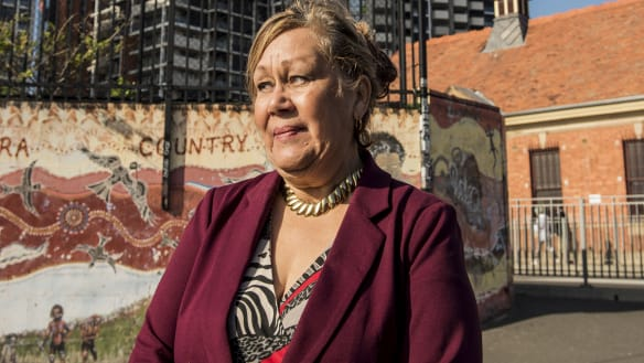 Living in a half-way house, Aunty Norma steps up in battle for Newtown