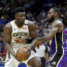 James stars as Lakers dump Zion's Pelicans