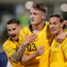 Harry Souttar scores on debut as Socceroos ease past Nepal
