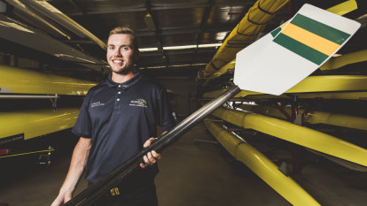 Canberra rower Caleb Antill eyeing Olympics debut at Tokyo 2020