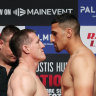 As it happened: Justis Huni claims final-round stoppage win over gritty, gutsy Gallen