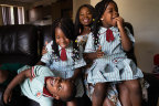 Shane, Shanette and Shanelle will begin school in January after a tough few years