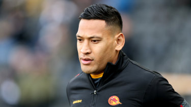 Israel Folau went from hero to zero.