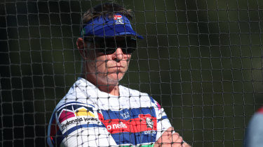 Knights coach Adam O'Brien has spoken to his side about the prospect of hosting Newcastle's first home final in more than a decade.