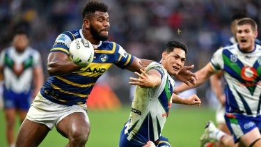 The Eels-Warriors encounter is one of the Magic Round fixtures in doubt.