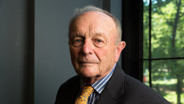 Harvey norman founder and executive chairman Gerry Harvey says he's never seen times like these.