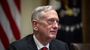 Former US secretary of defence Jim Mattis.