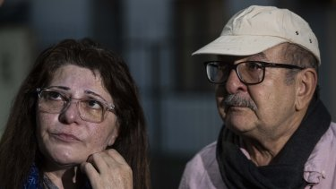 Janna Ezat and Hazim Al-Umari are desperately waiting for news of their son Hussain.