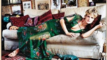 Supermodel Stella Tennant, in British Vogue, in 2001.