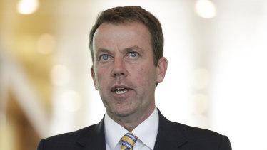 Education Minister Dan Tehan.