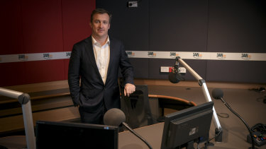 Tom Malone, who starts his new job as Nine's managing director of radio on Monday, says he's excited to start.