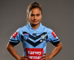 NRLW player Nita Maynard, who has also played for NSW and New Zealand.