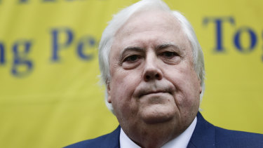 Clive Palmer began legal action against the state after his application to enter WA in May was refused.